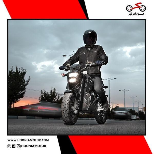 موتور سیکلت برقی در شهر