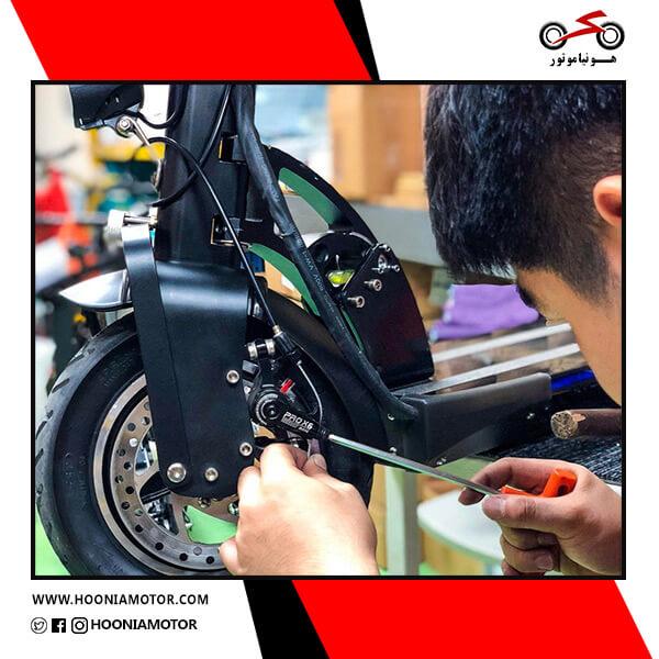 تعمیر موتور سیکلت برقی